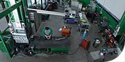 Officina per la riparazione di camion, autocisterne e rimorchi frigoriferi