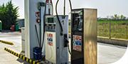 Stazione di rifornimento gasolio per autotrasporti